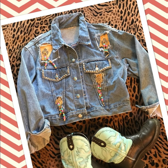 Jackets & Blazers - Denim Jacket  Wild West Jean Jacket 
