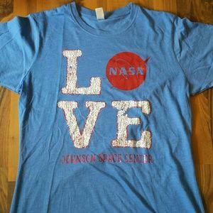 Tops - I love NASA tee