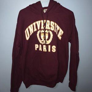 Paris France university sweatshirt size small