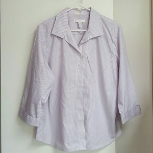 Tops - Chico's 3 Cool Cotton Blouse