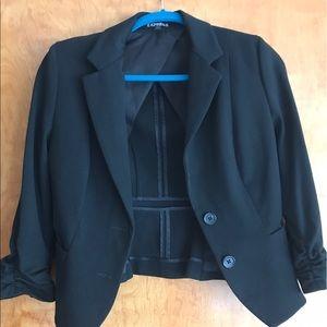 Express cropped blazer size 4