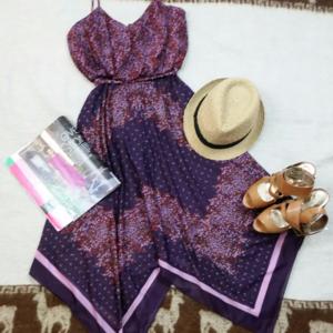 Dresses & Skirts - Handkerchief Hem Boho Peasant Floral Dress