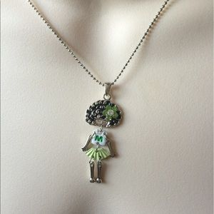 Jewelry - M Girl Pendant Necklace