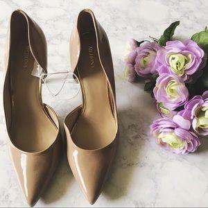 Shoes - NUDE HEELS 👠