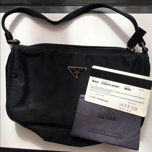 Small black Prada bag