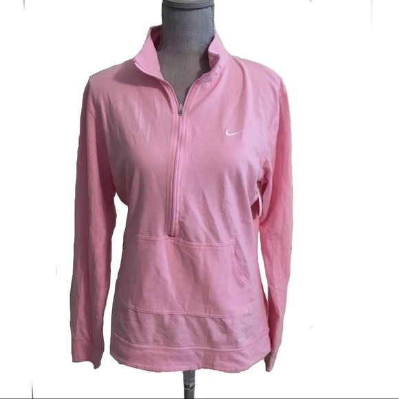 63 off nike tops nike pink half zip pullover sweatshirt from katrina 39 s closet on poshmark. Black Bedroom Furniture Sets. Home Design Ideas