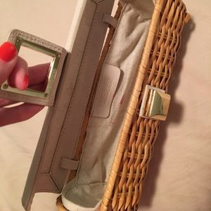 MICHAEL Michael Kors Bags - Michael Kors Straw Clutch