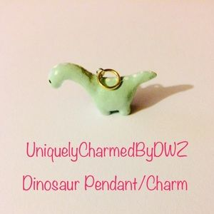 Jewelry - Handmade Dinosaur Pendant/ Charm