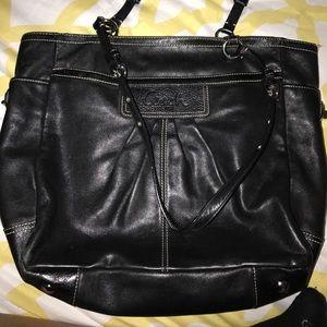 Handbags - Black Coach purse