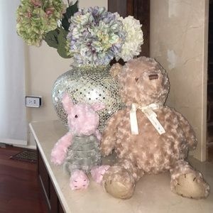 Other - Classic Winnie the Pooh and piglet teddy bear