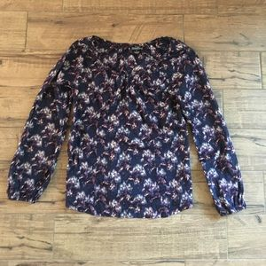 Patterned Long-Sleeved Lucky Brand Missed Shirt M