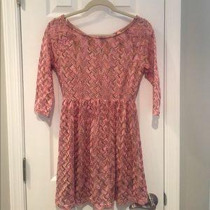 Forever 21 3/4 sleeve dress