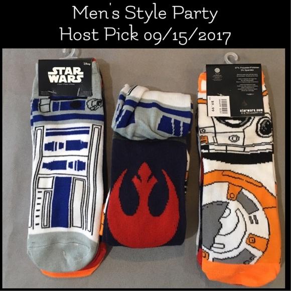 LAST ONES! NWT Star Wars Ankle Socks Sizes 6-12 NWT