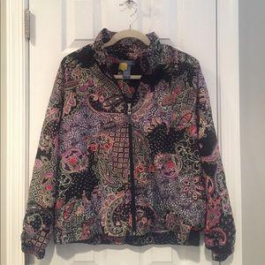 PAtterned light jacket