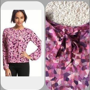 Cabi Kaleidoscope Blouse, can be worn backwards 🍇