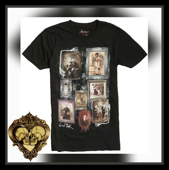Antique horror Shirts | Gus Fink Portrait Skele Frames Tshirt | Poshmark