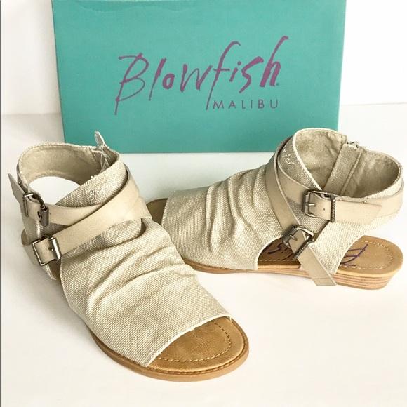 b95005e4a6cd Blowfish Shoes - BLOWFISH Brisa Birch Rancher Canvas