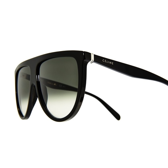 30a911b3db3 New Celine Thin Shadow Sunglasses in Black Grey