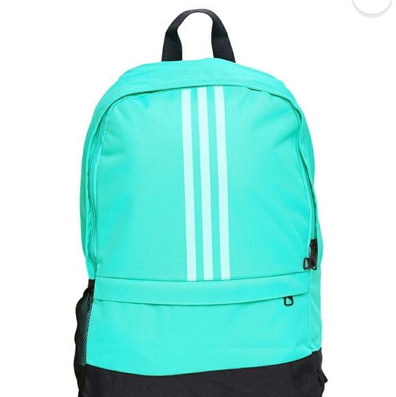 Adidas Handbags - ADIDAS UNISEX SEA GREEN BACKPACK 3c3d4a21d