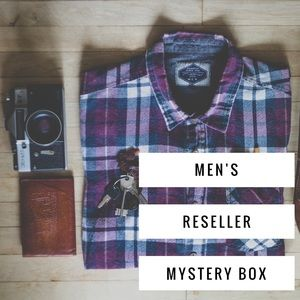 • Men's Reseller mystery box • Only 1 available