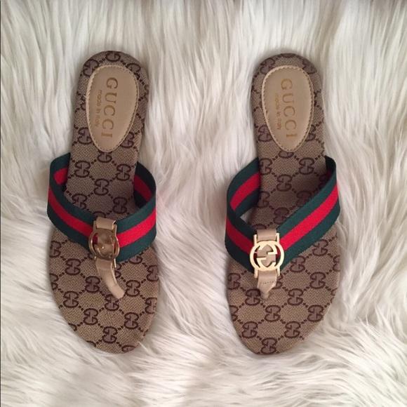 fc115f20cdce Gucci Shoes - Sale! Gucci Flip Flops