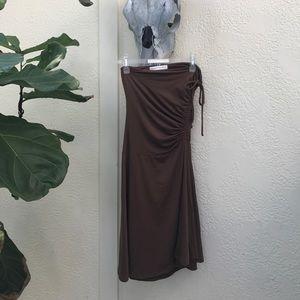 Susana Monaco brown tube dress