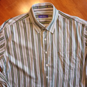 Alan Flusser Men's Striped Dress Shirt