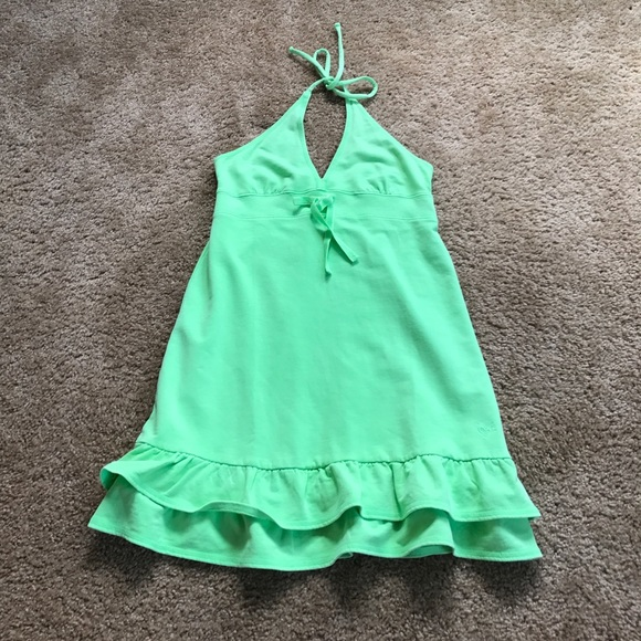 574f24625d Justice Other - Neon Green Justice Swimsuit Cover Up