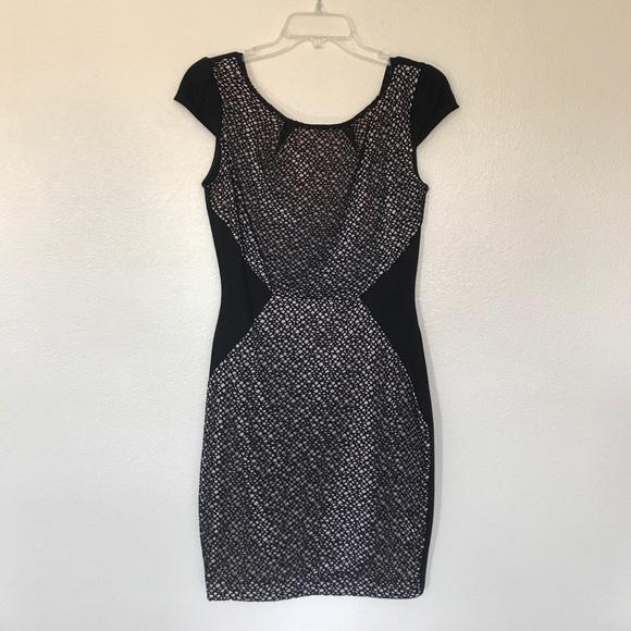 fba7dd6502a83 Sabora Dresses   Black And Cream Cocktail Dress Size M   Poshmark