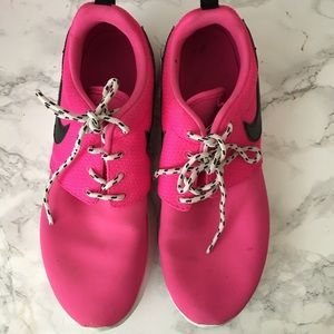 Hot Pink Nike Roshe Run