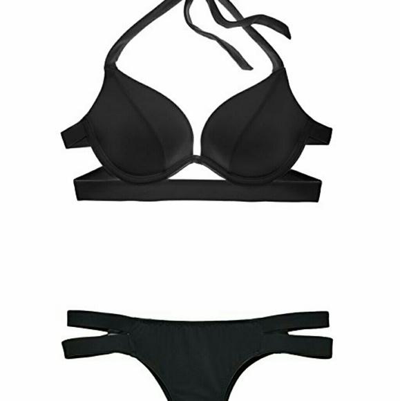 f98beaf94c Royal Blue Push Up Banded Bikini Swim XSmall 32A