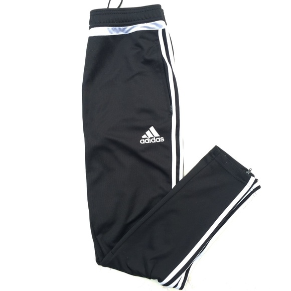 2de7cbc279ec adidas Pants -  Adidas  Black and White Skinny Sweatpants