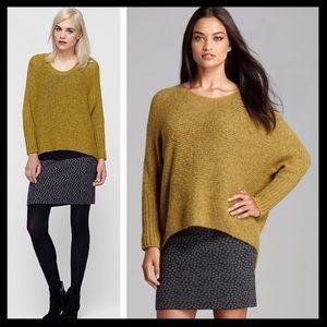 eileen fisher // 100% alpaca dolman knit sweater