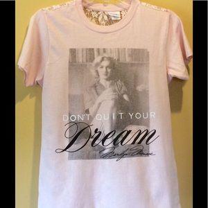 Tops - Marilyn Monroe short sleeved shirt