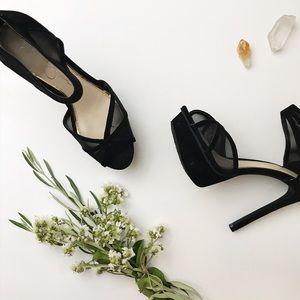 JS   Ceyanna Black Stilettos