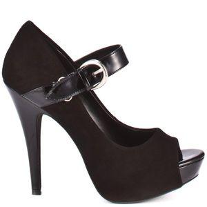 Jessica Simpson Abbar Black Heels