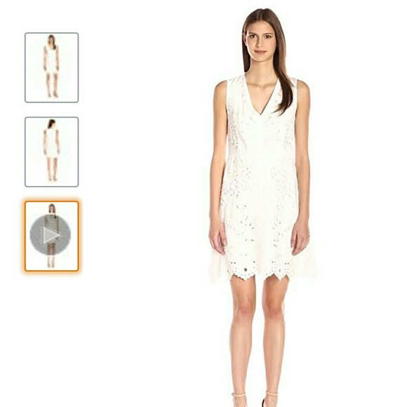 49985cf776d NWT Theory Embroidered Linen dress