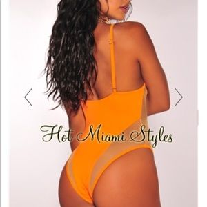 One piece bathing suit -- Hot Miami Styles