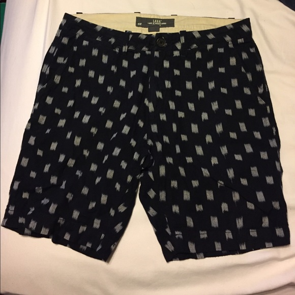 off H&M Other ?LOGG MENS SHORTS?BLUE W GRAY SQUARE