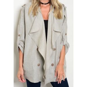 Jackets & Blazers - Sale!   French Terry Style Jacket OSFM