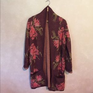 OFFER ME 📲Free People Flower Power Cardigan