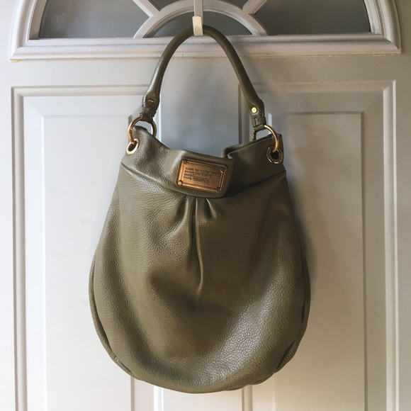 a36981f7ab Marc By Marc Jacobs Bags | Euc Mbmj Classic Q Hillier Hobo Desert ...