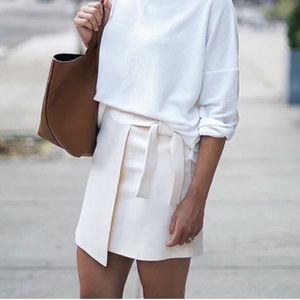 BRAND NEW Every Bloggers Fav Faux Wrap Mini Skirt