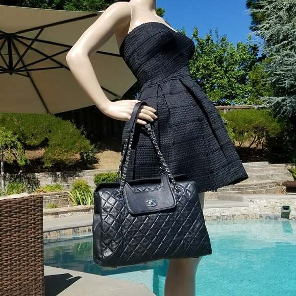 8ed12aee8856 CHANEL Handbags - NWT CHANEL Authentic Quilted Large Open Flap Tote
