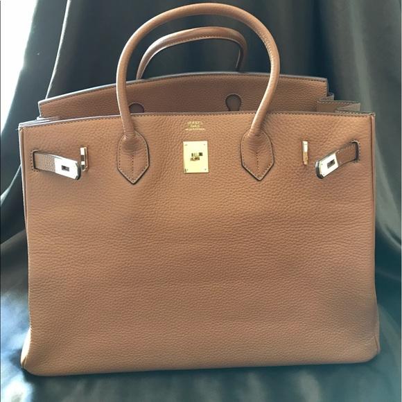 9f0a3ef1ca6 Hermes Handbags - Gold Togo leather Hermes Birkin 35