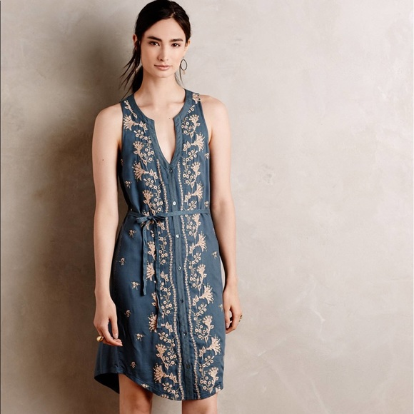 d6746d1b87cf Anthropologie Dresses | Tiny Syden Embroidered Dress Sz Xs | Poshmark