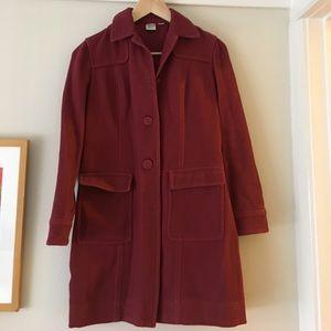 City DKNY 3/4 sleeve corduroy coat