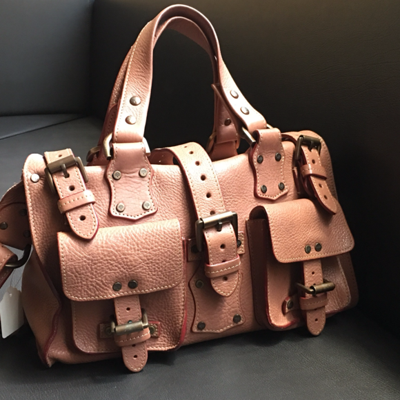 fe502cba9bcc MULBERRY LEATHER ROXANNE BAG-     AUGUST SALE!