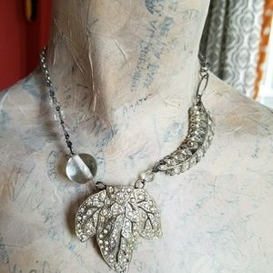 Jewelry - Upcycled refashioned vintage choker necklace