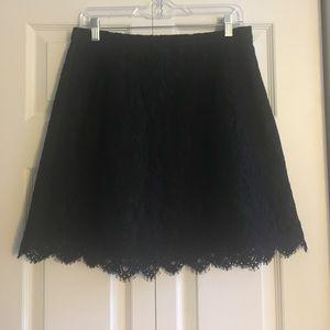 J.Crew Lace Skirt Size 8
